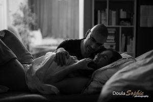 Thuisbevalling-geboortefotografie