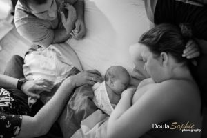 Surrogacy-home-birth-first-feed