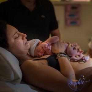 Just born hospital birth